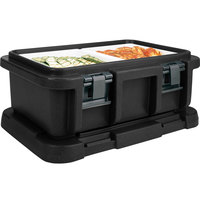 Cambro UPC160110 Black Camcarrier Ultra Pan Carrier - Top Load for 12 inch x 20 inch Food Pan