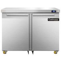 Continental DLF36-SS-U 36 inch Undercounter Freezer
