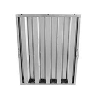Regency 25 inch x 20 inch x 2 inch Stainless Steel Hood Filter