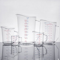 Cambro Camwear 5-Piece Measuring Cup Set