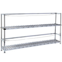 Metro 2KR365DC Six Keg Rack with Two Dunnage Racks - 60 inch x 18 inch x 56 1/8 inch