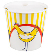 Choice 10 lb. Chicken Bucket with Lid - 20/Pack