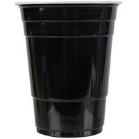Choice 16 oz. Black Plastic Cup - 1000/Case