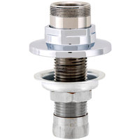 Fisher 45551 Deck Mounted 1/2 inch Stainless Steel Faucet Base with Swivel Outlet