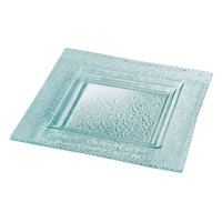 Rosseto GSP10 10 inch Green Glass Medium Square Platter