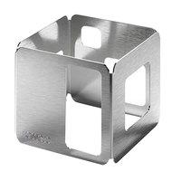 Rosseto D62977 6 inch Square Stainless Steel Riser
