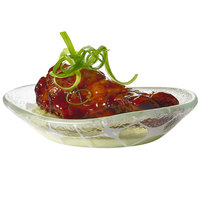 Rosseto GLS005 2 oz. Printed Glass Mini Oval Bowl   - 24/Case