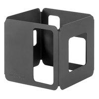 Rosseto SM128 6 inch Square Black Matte Riser