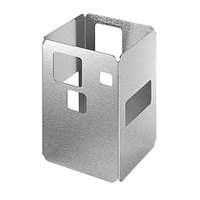 Rosseto D61877 10 inch Square Stainless Steel Riser