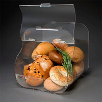Rosseto BAK1203 Single-Tier Acrylic Bakery Display Case - 12 inch x 12 inch x 11 inch