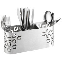 Rosseto SM263 Iris 3 Compartment Stainless Steel Flatware Organizer