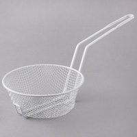 8 inch Coated Medium Mesh Breading Basket