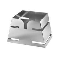 Rosseto LD137 Skycap 6 1/2 inch Pyramid Stainless Steel Riser