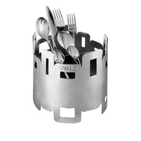 Rosseto D42577 4 Compartment Stainless Steel Flatware Organizer