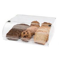 Rosseto BAKST2248 Flip Door Acrylic Dome Bakery Display Case - 15 inch x 12 1/2 inch x 5 inch