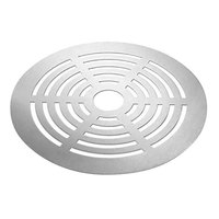 Rosseto SM138 16 inch Round Stainless Steel Grill Top