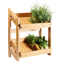 Rosseto BD136 Natura Bamboo Stand with 2 Bamboo Trays