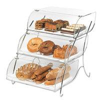 Rosseto BAK2944 Three -Tier Acrylic Bakery Display Case- 16 inch x 23 inch x 19 inch