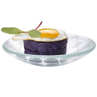 Rosseto GLS008 2 oz. Printed Glass Mini Saucer Bowl - 24/Case