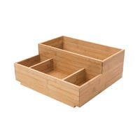Rosseto BD109 4 Compartment Natural Bamboo Condiment Holder