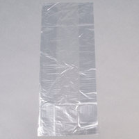 LK Packaging 8G084021 Plastic Food Bag 8 inch x 4 inch x 21 inch - 1000/Box