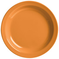 World Tableware VCO-6 Veracruz 6 1/2 inch Round Cantaloupe Narrow Rim China Plate - 36/Case