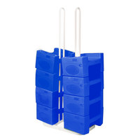 Koala Kare KB120SM-04 Small Booster Buddy Stand with 10 Blue Plastic Booster Seats