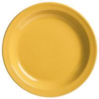 World Tableware VCM-6 Veracruz 6 1/2 inch Round Marigold Narrow Rim China Plate - 36/Case