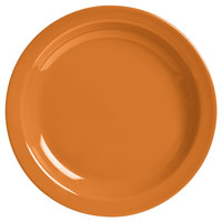World Tableware VCO-16 Veracruz 10 1/2 inch Round Cantaloupe Narrow Rim China Plate - 12/Case