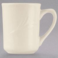 World Tableware END-1 Endurance 8.5 oz. Cream White China Mug - 36/Case