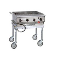 MagiKitch'n LPG30-SS Stainless Steel MagiCater 30 inch Portable LP Gas Outdoor Grill