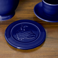 Homer Laughlin 443105 Fiesta Cobalt Blue 6 inch Trivet - 6/Case
