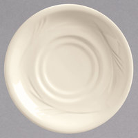 World Tableware END-15 Endurance 5 1/2 inch Round Cream White China Saucer - 36/Case