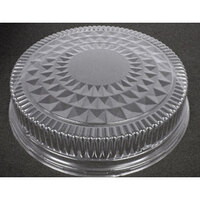 18 1/2 inch Plastic Crystal Cut Dome 50/Case