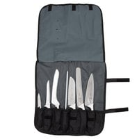 Mercer Culinary M21821WH Millennia 8-Piece White Handled Knife Roll Set
