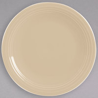 Homer Laughlin 467330 Fiesta Ivory 11 3/4 inch China Round Chop Plate - 4/Case