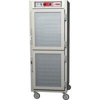 Metro C5Z69-NDC-UPDC C5 Pizza Series Pass-Through Insulated Heated Holding Cabinet - Full Size with Clear Dutch Doors 120V