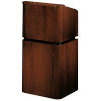 Oklahoma Sound 910/901-MY/WT Mahogany on Walnut Finish Veneer Combination Floor Lectern