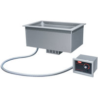 Hatco DHWBI-1 Insulated One Compartment Modular / Ganged Drop In Hot Food Well with Drain - 120V