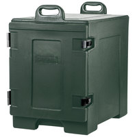 Carlisle PC300N08 Cateraide™ Forest Green Front Loading Insulated Food Pan Carrier - Holds 5 Pans