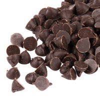 Pure Semi-Sweet 4M Mini Chocolate Baking Chips with Real Vanilla 25 lb.