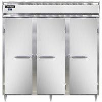 Continental DL3R-SA 78 inch Solid Door Reach-In Refrigerator
