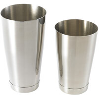 Mercer Culinary M37009 Barfly 28 oz. & 18 oz. 2-Piece Stainless Steel Shaker Tin Set