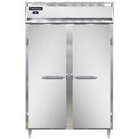 Continental DL2R-SA 52 inch Solid Door Reach-In Refrigerator