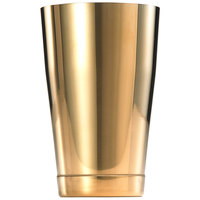 Mercer Culinary M37007GD Barfly 18 oz. Gold Plated Half Size Shaker Tin
