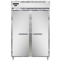 Continental DL2RS 52 inch Shallow Depth Solid Door Reach-In Refrigerator