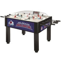 Holland Bar Stool DHBColAva 54 inch Colorado Avalanche Logo Basic Dome Hockey Table