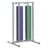 Bulman R997-48 48 inch Vertical Two Roll Paper Rack