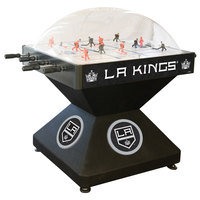 Holland Bar Stool DHDLAKing 52 inch Los Angeles Kings Logo Deluxe Dome Hockey Table