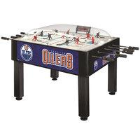Holland Bar Stool DHBEdmOil 54 inch Edmonton Oilers Logo Basic Dome Hockey Table